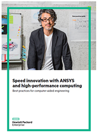 Speed Innovation with ANSYS and high-performance computing